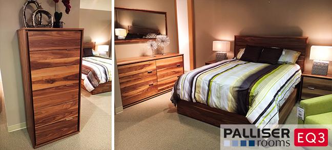 Shermag Danemark Bedroom Collection Queen Bed 2 Nightstands Dresser Mirror 3157 Matching Dresser 1029