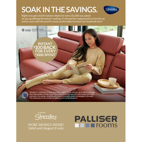 Palliser Rooms / EQ3 Flyer