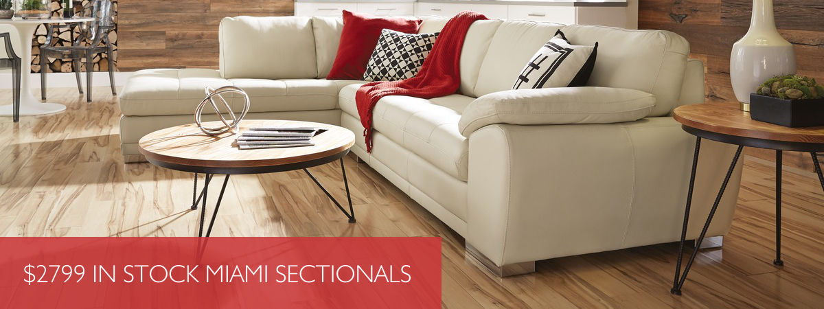 $2799 In Stock Miami Sectionals